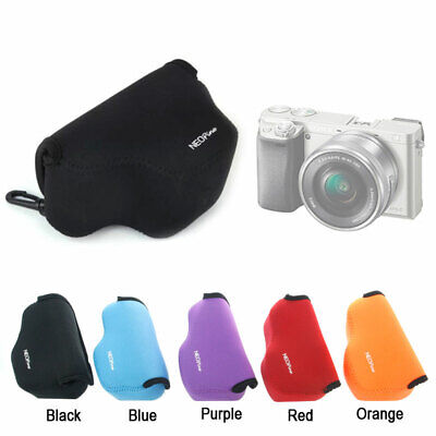 AU15.50 • Buy Neoprene Soft Camera Protect Case Bag For Sony A6000 A6100 A6300 16-50mm