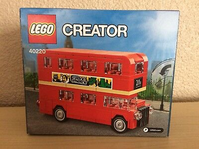 $ CDN29.33 • Buy Lego 40220 Creator Double Decker London Bus Exclusive Mini Build Promo Set NEW