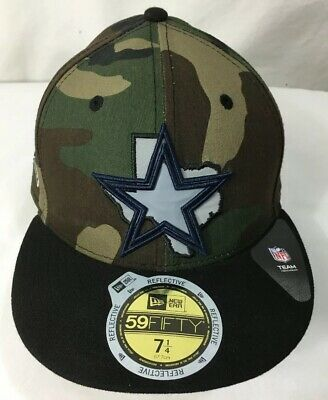 3e51f8ee4c NFL Dallas Cowboys New Era 59 Fifty Camo Hat Cap Size (71 4)