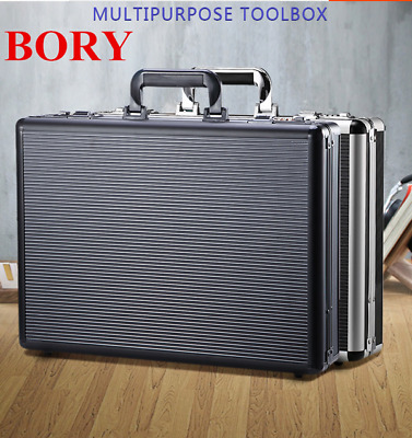 $52.43 • Buy Aluminum Business Working Cases File Document / Certificate / Magazine Briefcase