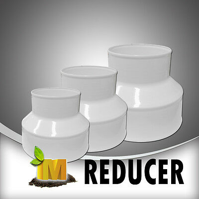AU18.99 • Buy Duct Reducer  4-5inch, 4-6inch, 5-6inch, 6-8inch White Steel