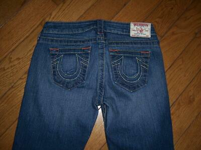 $38.50 • Buy True Religion Brand Lizzy Capri Cropped Jeans Size 28 Awesome