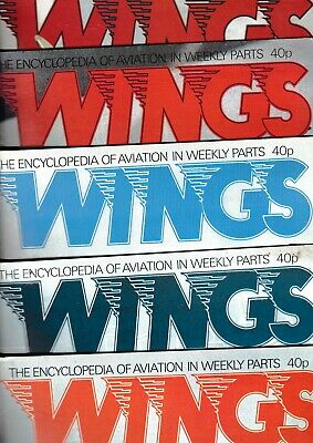 AU7.16 • Buy Various Issues Of WINGS Magazine (Orbis Publications Ltd) From #1 To #163