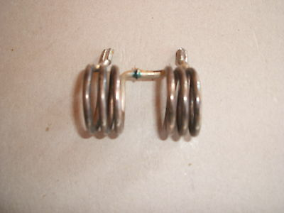 RF Inductor Coil, SILVER Plated For TRANSMITTER / RECEIVER • 8£