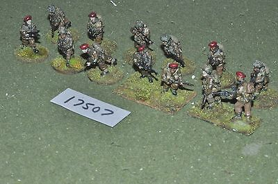 28mm WW2 / British - Paratroopers 13 Figs World War 2 - Inf (17507) • 40£