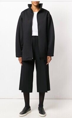 AU198.44 • Buy Y-3 Yohji Yamamoto Adidas Oversized Black Coat Jacket WOMEN'S Size Small