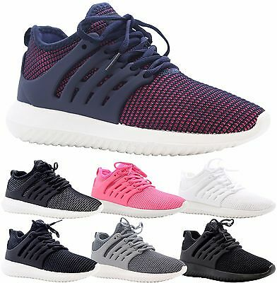 £9.99 • Buy Ladies Womens Jogging Running Fitness Sports Shock Absorbing Trainers Shoes Size
