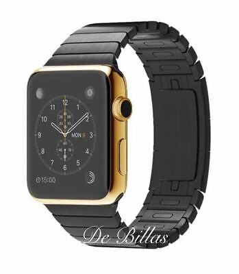 $ CDN927.07 • Buy 24K Gold Plated 42MM Apple Watch SERIES 2 With Space Black Link Warranty