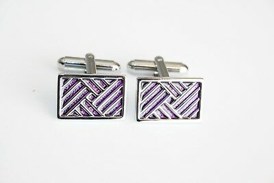 Cufflinks Purple Design / Women's Cufflinks / Unisex Cufflinks  • 4.95£