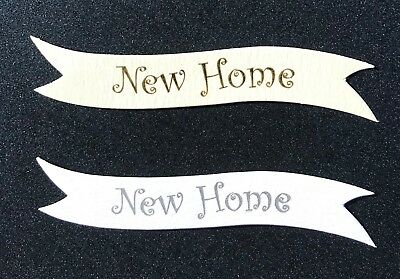 New Home Banners/card Toppers On 300gsm Quality Boards Pk10 • 1.75£