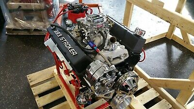 Chevy 383 Cid 415+hp Custom Crate Engine Turn Key Dyno Test 2 Year Warranty • 4,995$