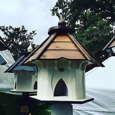 Dovecote Dovecotes Dove Cote With Brown Wooden Roof • 325£