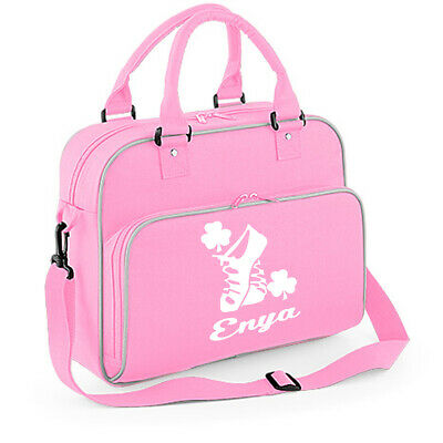$23.23 • Buy Personalised Irish Dancing Bag Dancer Birthday Bag Fesh Gift Shoulder Feis Kit