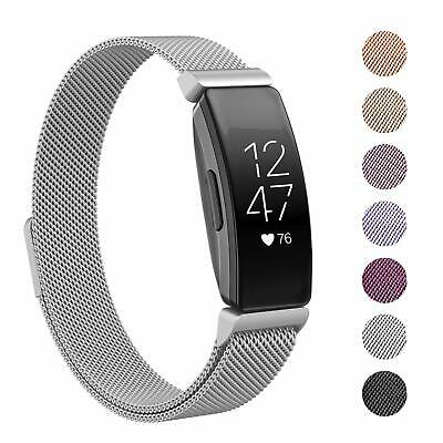 AU12.95 • Buy For Fitbit Inspire/Inspire HR Milanese Stainless Steel Magnetic Replacement Band