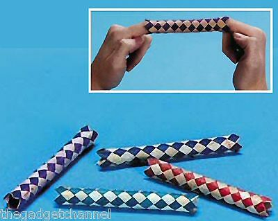 £3.49 • Buy Chinese Finger Traps Childrens Boys Birthday Party Bag Filler Toy Loot Gift