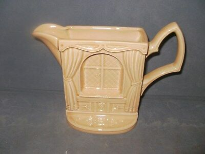 Window Decorated Flat Jug By Park Rose • 4.99£