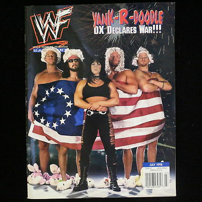 $ CDN12.67 • Buy WWF Wrestling Magazine WWE Wrestler Chyna HHH Road Dogg DX July 1998