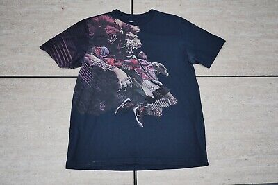 acaec6320c0 Lebron James Nike Dri Fit T Shirt Extra Large Lakers Lions And Robot James  XL •