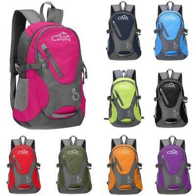 View Details 20L Small Cycling Backpack Outdoor Sports Hiking Camping Daypack Rucksack New • 10.99$