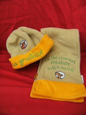 Briers Gruffalo Hat  And Scarf Set Age Approx 2 Years (B55) • 5.99£