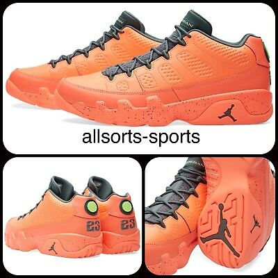 big sale f7aea 10ff5 Nike Air Jordan 9 Retro Low  Bright Mango    UK 10 EU 45 US