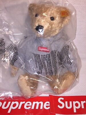 $420 • Buy NWT Supreme X Steiff Teddy Bear Authentic From Supreme NY