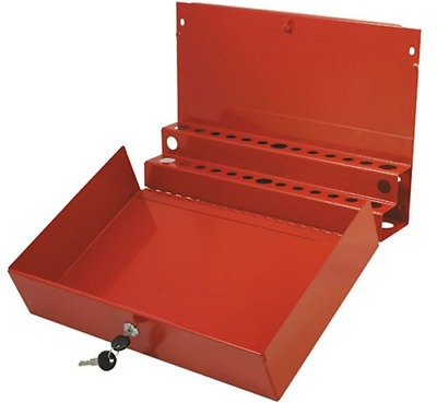 AU79.73 • Buy Sunex 8011 Large Locking Screwdriver And Pry Bar Holder For Service Cart- Red