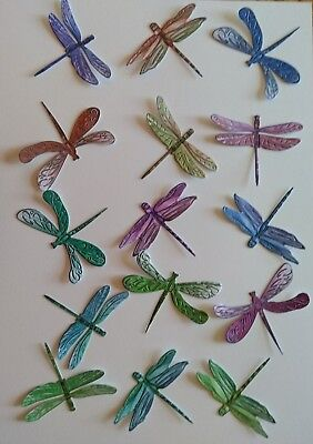 £1.50 • Buy  DRAGONFLIES  15 Charisma Die Cuts. Insects.(See Postal Discount!)