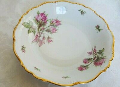 £14.39 • Buy (2) Edelstein Bavaria Maria-Theresia Moss Rose #16703 Soup Bowls SET OF 2