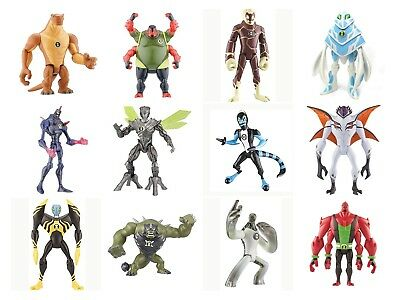 BEN 10 Cartoon Series 10cm Toy Action Figures (not Boxed) - Your Choice Of 12 • 9.99£