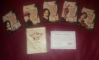 £35 • Buy Living Dead Dolls Collector Trading Cards Series 1