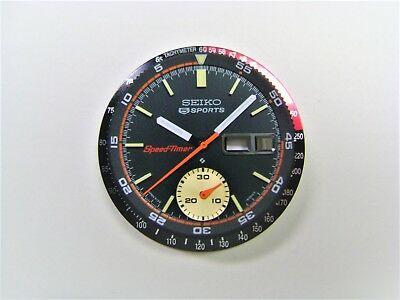$ CDN132.74 • Buy Set Of Dial, Hands, Inner & Outer Bezel For  6139-6032/30 Coke Speedtimer Chrono