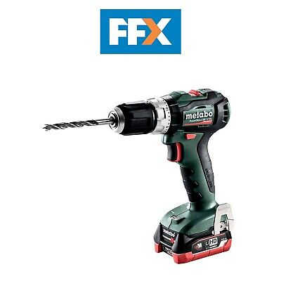 Metabo 601077800 12v 2x4.0Ah LiHD Brushless Combi Hammer Drill In Case • 143£