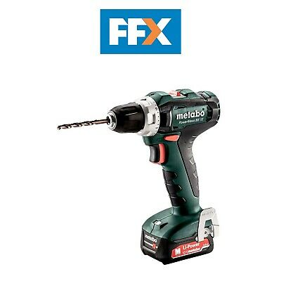 Metabo 601036500 12v 2x2.0Ah Li-ion Drill/Driver In Case • 104.50£