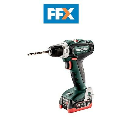 Metabo 601036800 12v 2x4.0Ah LiHD Drill Driver In Case • 161.50£