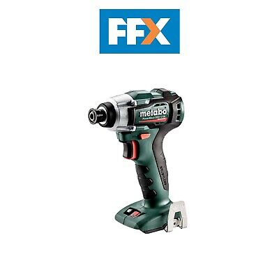 £84.38 • Buy Metabo 601114890 12v Li-ion 1/4in Impact Driver Bare Unit With Inlay