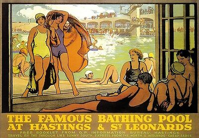 £7.99 • Buy A3 Travel Art Poster Hastings And St Leonards Railway