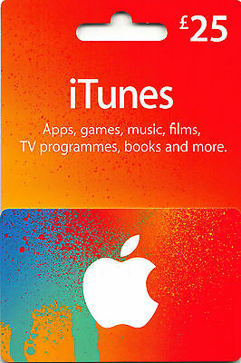 AU54.01 • Buy ITunes Gift Card UK £25 GBP Apple App Store Code | £25 Pound UK British English