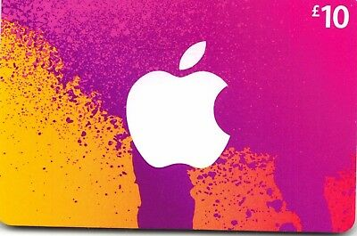 AU25.23 • Buy ITunes Gift Card UK £10 GBP Apple App Store Code | £10 Pound UK British English