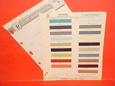 $12.99 • Buy 1964 Lincoln Continental Convertible Sedan Ford Thunderbird Landau Paint Chips