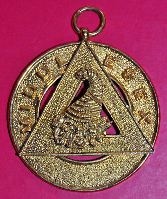 Middlesex Chapter Past Provincial Grand Steward Masonic Collar Jewel • 15£