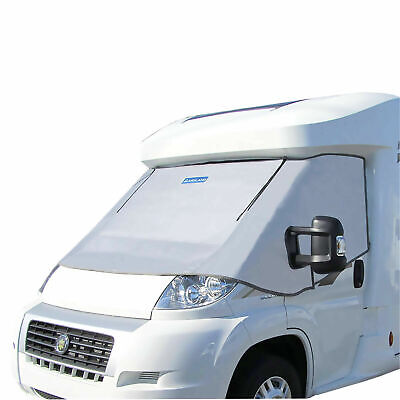 Motorhome External Thermal Screen Turn Down Cab Cover Ducato Boxer X250 2006 ON • 93.99£