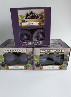 Yankee Candle Tea Lights 3 Boxes = 36 Tealights Or YOU Choose 3 (PLEASE MESSAGE) • 9.99£