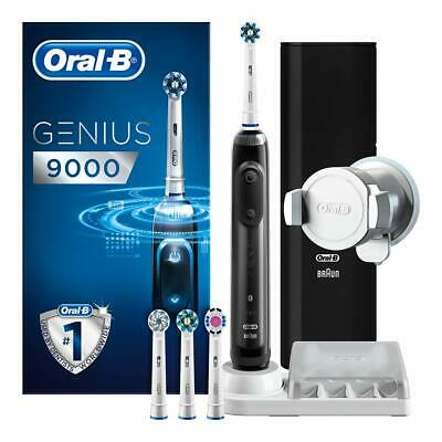 View Details Oral-B Genius 9000 CrossAction Electric 6 Modes Toothbrush With 4 Heads - Black • 99.99£