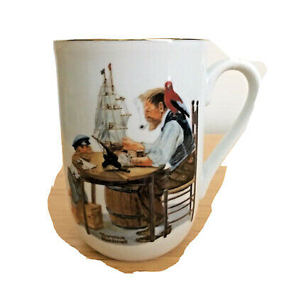 $ CDN21.29 • Buy Norman Rockwell Museum Collection  For A Good Boy  Porcelain Coffee Mug 1982