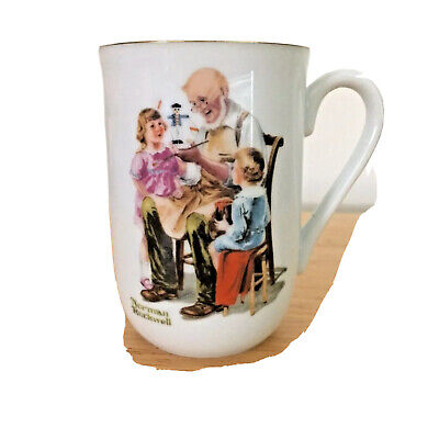$ CDN21.29 • Buy Norman Rockwell Museum Collection  The Toymaker  Porcelain Coffee Mug 1982 ~ New