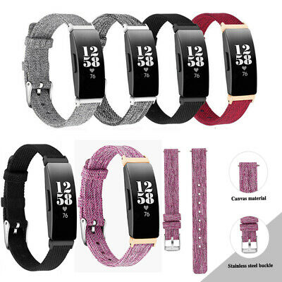 AU11.99 • Buy Sports Woven Nylon Wrist Band Buckle Strap Brace For Fitbit Inspire/Inspire HR