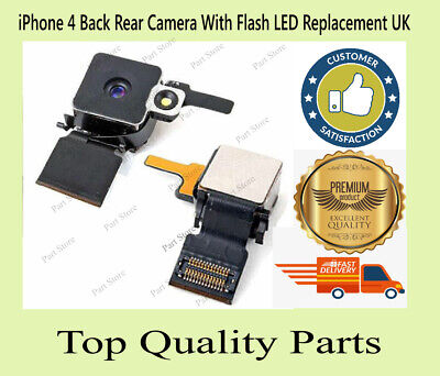 £3.99 • Buy IPhone 4 Back Rear Camera With Flash LED Replacement UK