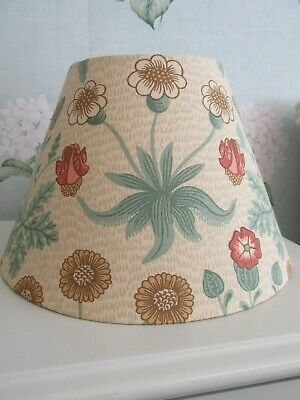 £30 • Buy Handmade Coolie Lampshade Morris Daisy Terracotta And Gold Fabric Many Sizes
