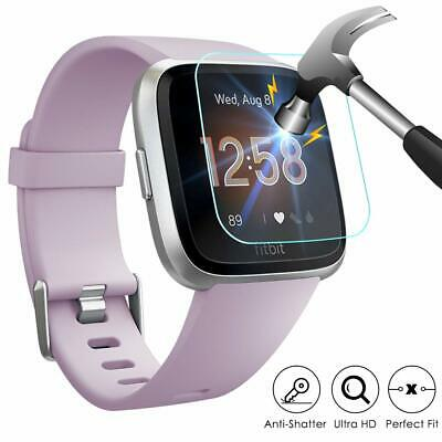 $ CDN2.54 • Buy For Fitbit Versa /Versa Lite Screen Protector Tempered Full Coverage Glass Guard